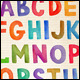 Vector Watercolor Alphabet - GraphicRiver Item for Sale
