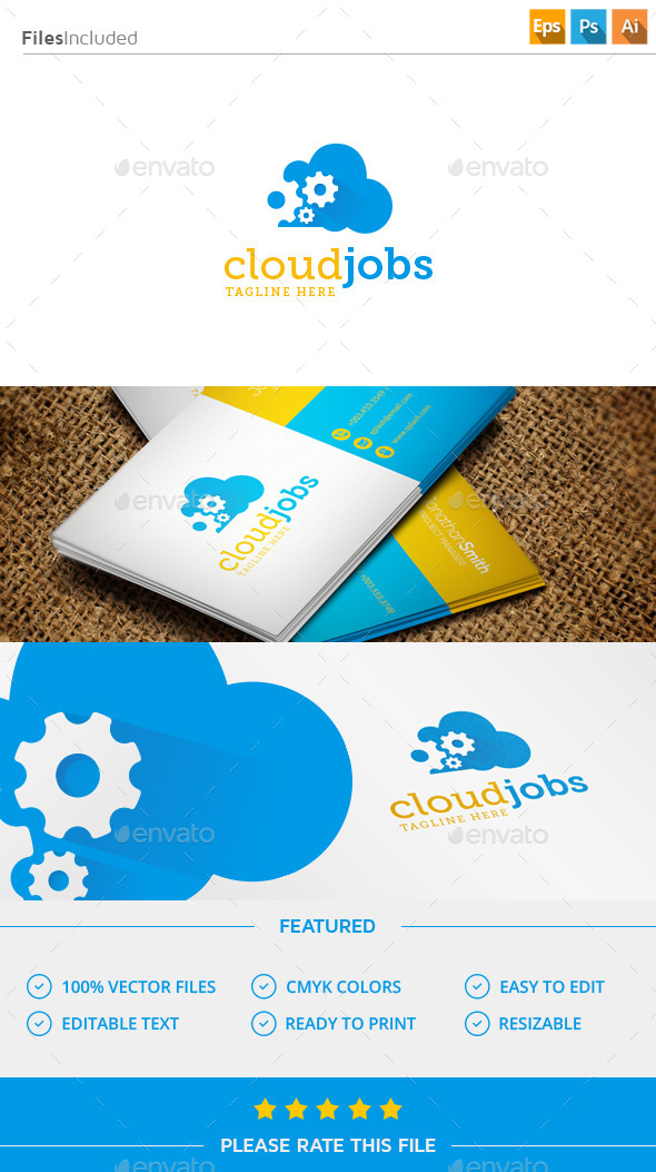 GraphicRiver Gear Cloud Logo 11507677