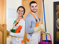 Portrait of professional cleaners - PhotoDune Item for Sale
