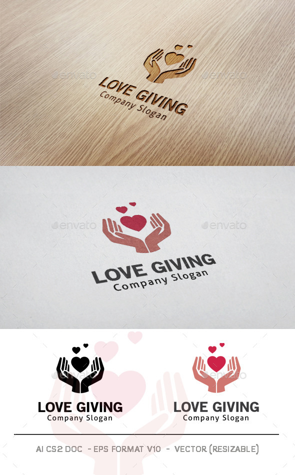 GraphicRiver Love Giving Logo 11507847