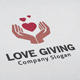 Love Giving Logo - GraphicRiver Item for Sale