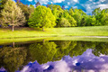 beautiful landscape and reflections in water - PhotoDune Item for Sale