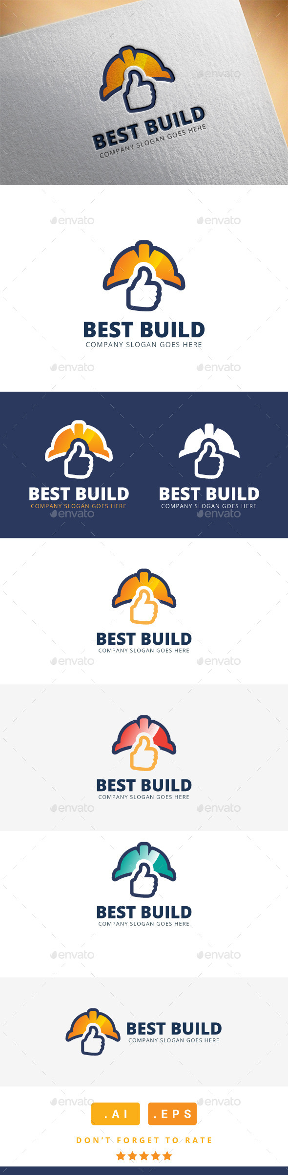 GraphicRiver Best Build Logo 11508165