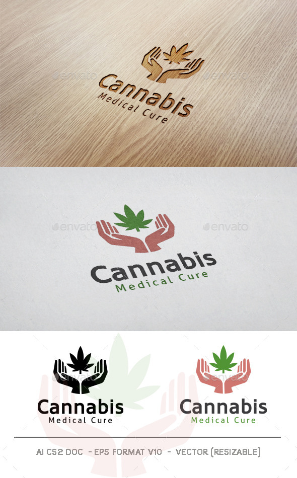 GraphicRiver Cannabis Logo 11508255