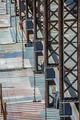 Bridge maintenance  with scaffolding  on site - PhotoDune Item for Sale