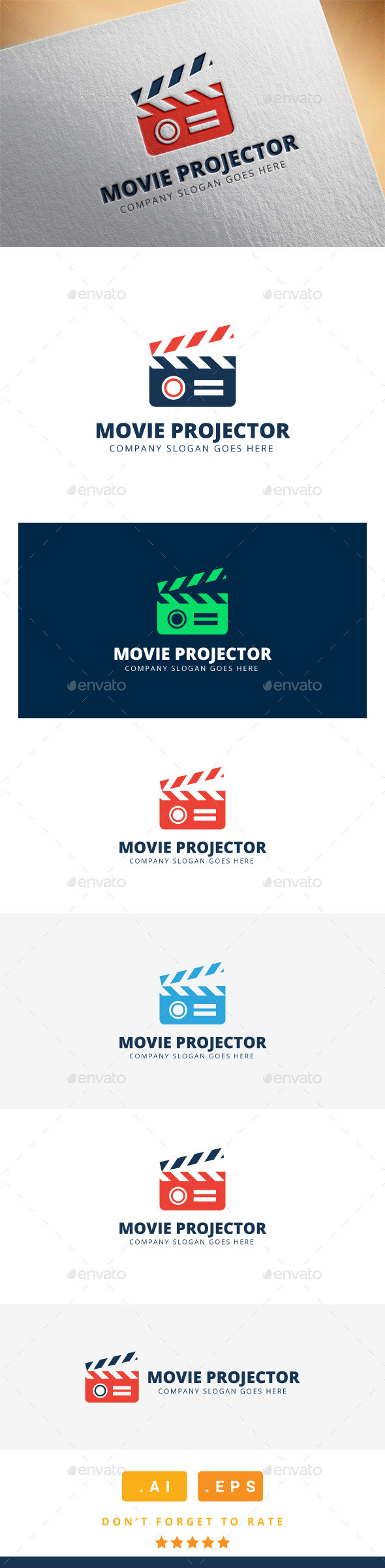 GraphicRiver Movie Projector Logo 11508421