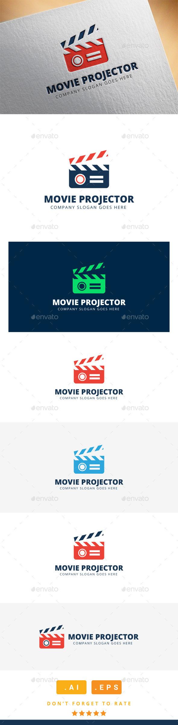 GraphicRiver Movie Projector Logo 11508421