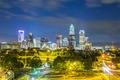 Downtown of Charlotte  North Carolina skyline - PhotoDune Item for Sale