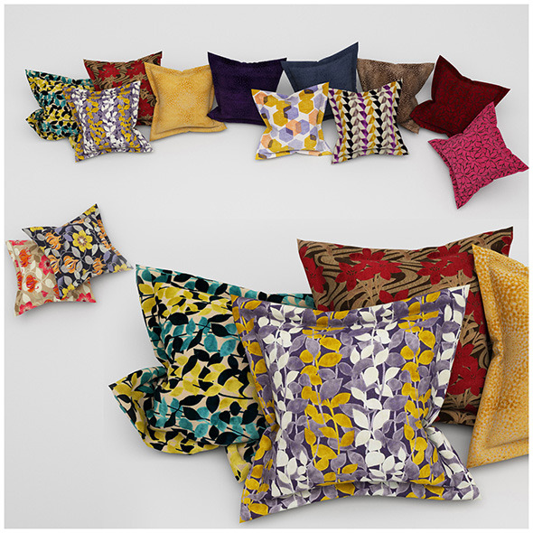 3DOcean Pillows 37 11508768