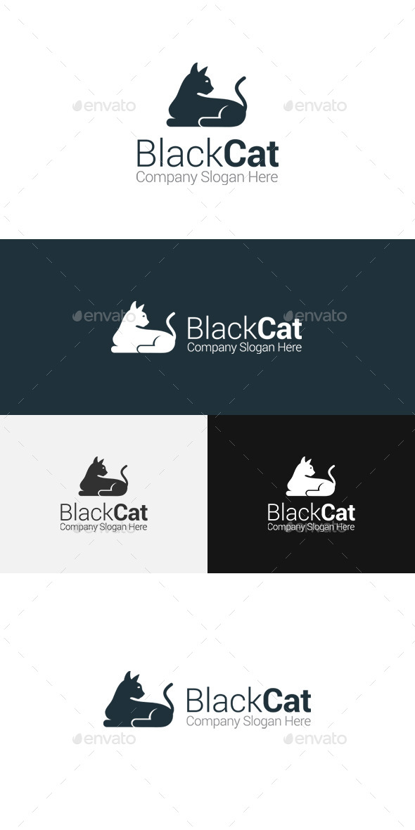 GraphicRiver Cat Logo 11508789