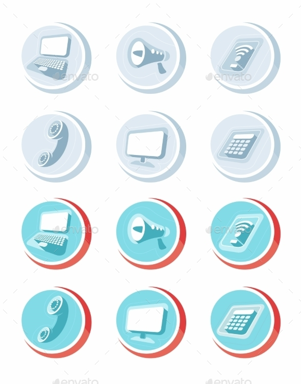GraphicRiver Electronic Device Icons 11508868