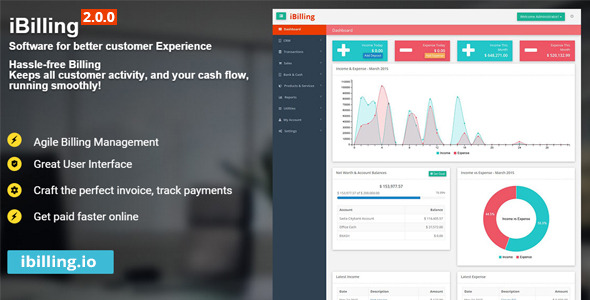 iBilling - Accounting and Billing Software - CodeCanyon Item for Sale