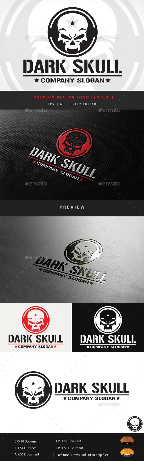 GraphicRiver Dack Skull 11508926