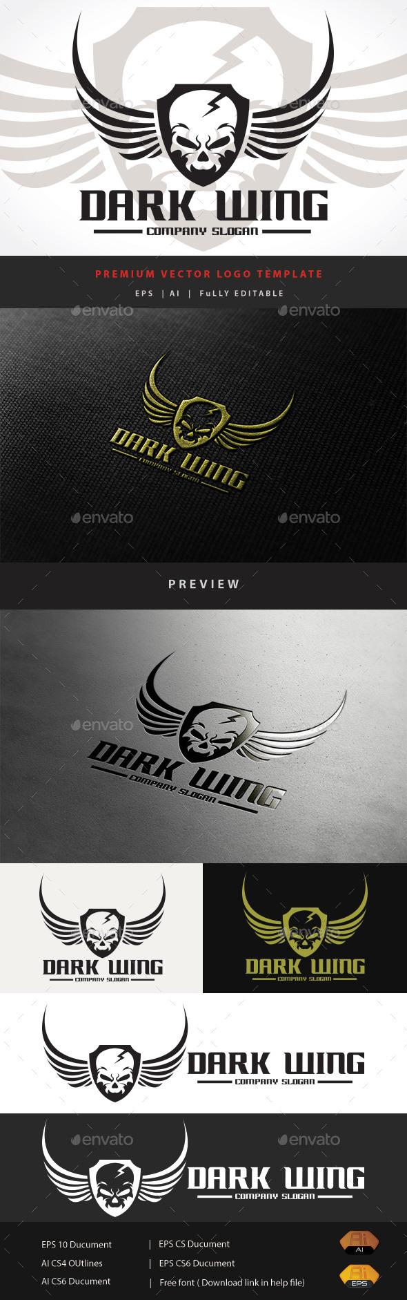 GraphicRiver Dark Wing 11508979