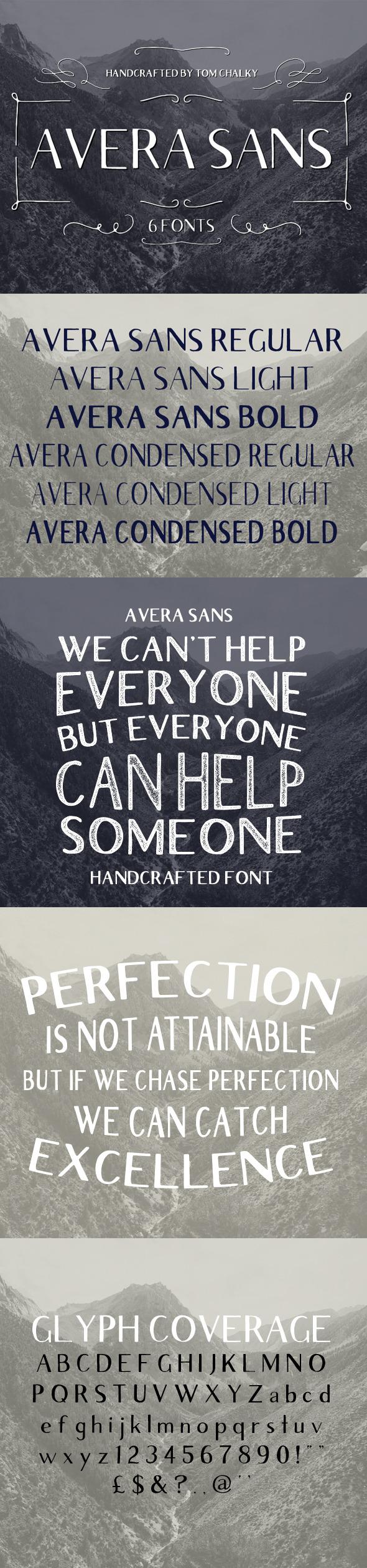 GraphicRiver Avera Sans 11509051
