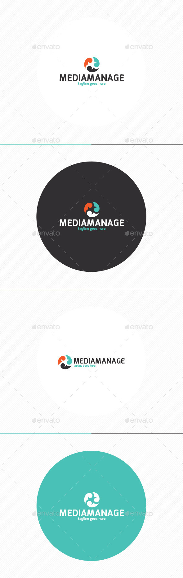 GraphicRiver Media Manage Logo 11509061