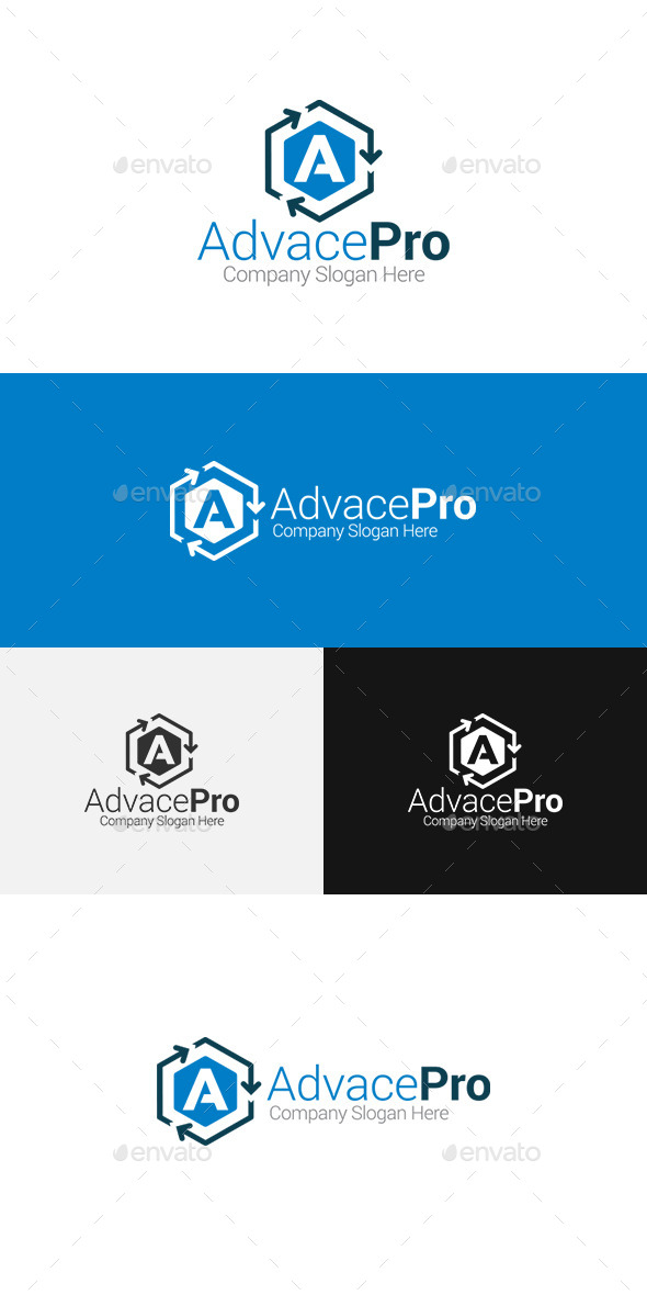 GraphicRiver Letter A Logo 11509103