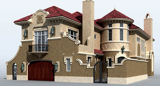 3D House Models