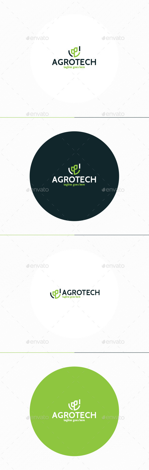 GraphicRiver Agro Tech Logo 11509126