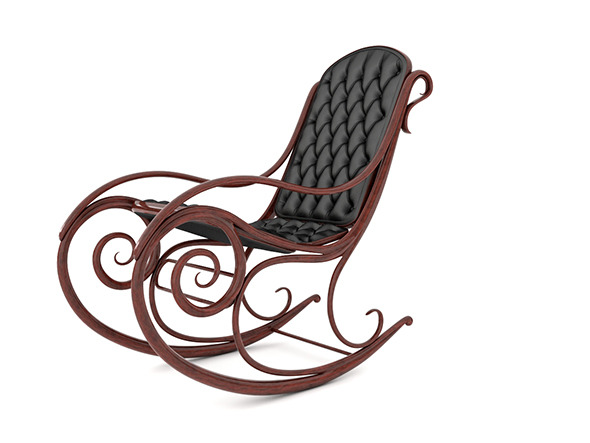 Rocking chair - 3DOcean Item for Sale