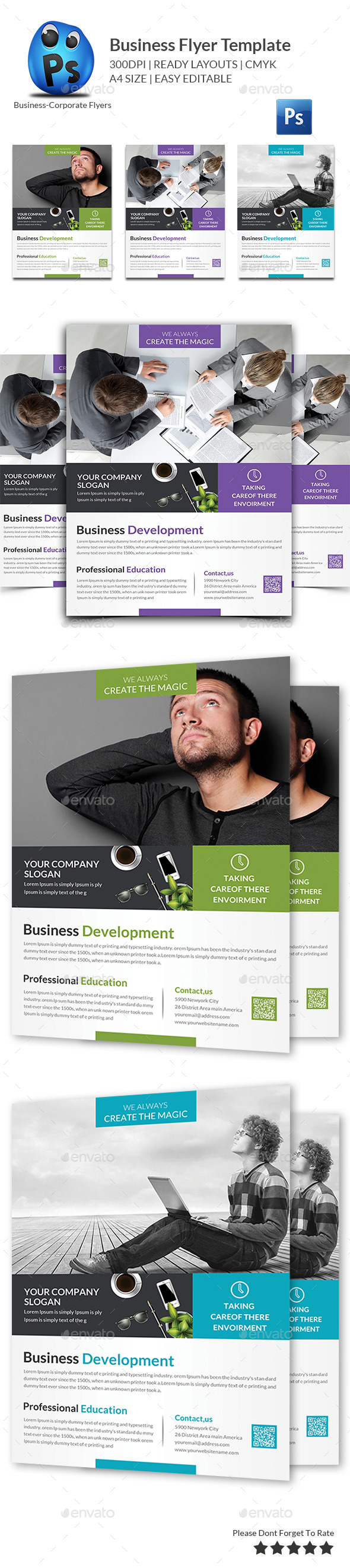 GraphicRiver Business Flyer Template 11509330