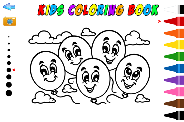 Kids coloring book - Games Showcase