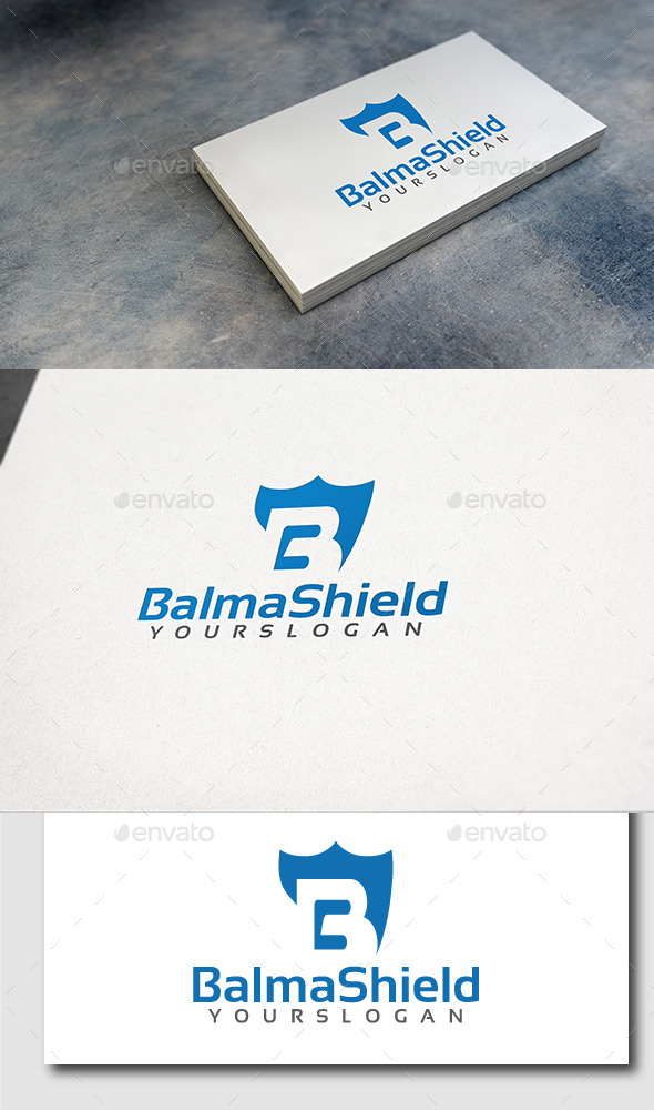 GraphicRiver Letter B Shield Logo 11509471