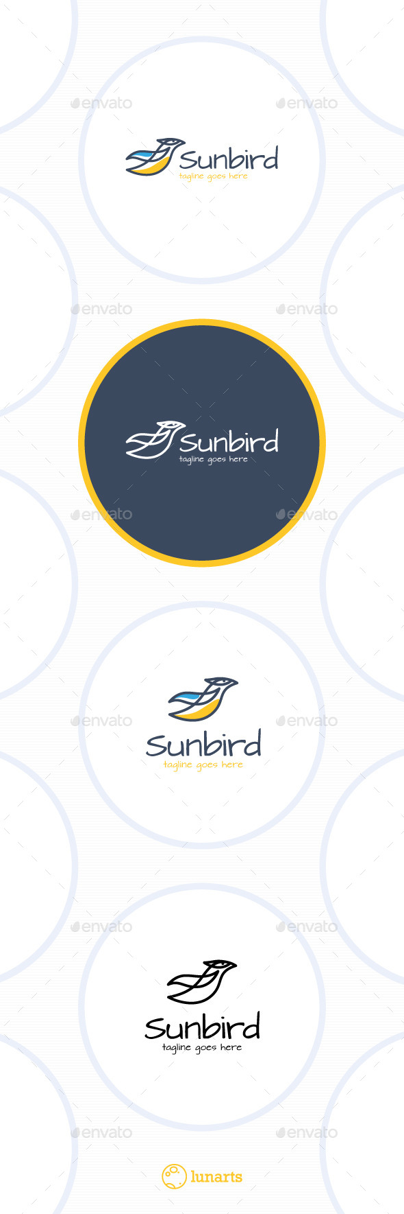 GraphicRiver Sun Bird Logo 11509948