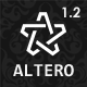 Altero - Responsive Morphing Multipurpose Template