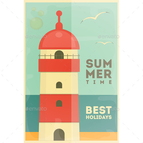 GraphicRiver Summer Holidays Card 11510114