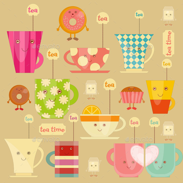 GraphicRiver Tea Time 11510199