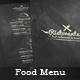 Food Menu - Flyer [Vol.4] - GraphicRiver Item for Sale