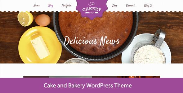 Cakery Cake WordPress Theme