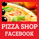 Pizza Shop Facebook Cover - GraphicRiver Item for Sale