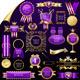 Set of Gold Design Elements,Vector - GraphicRiver Item for Sale