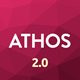 ATHOS V2 - Innovative Coming Soon Template - ThemeForest Item for Sale