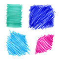 Abstract color drawn elements for design - PhotoDune Item for Sale