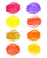 Set of abstract color drawn elements - PhotoDune Item for Sale