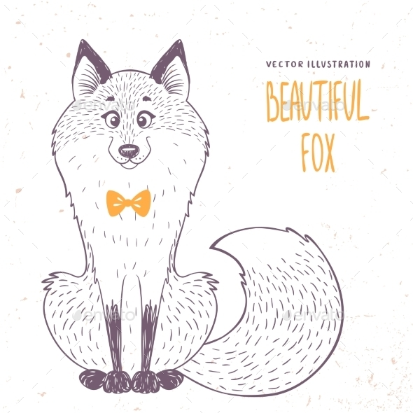 GraphicRiver Fox Doodle 11511994