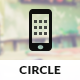 Circle | Mobile & Tablet Responsive Template - Mobile Site Templates