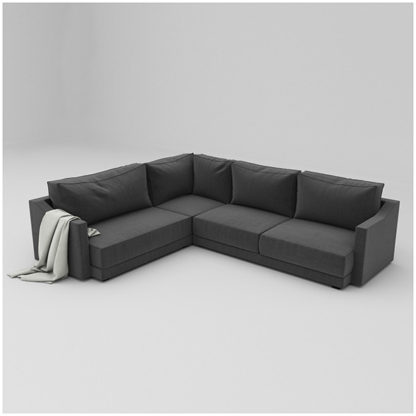TRIBECA SOFA - 3DOcean Item for Sale