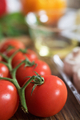 Cherry tomatoes and mushroom for pizza - PhotoDune Item for Sale