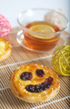 Tea with lemon and cake - PhotoDune Item for Sale