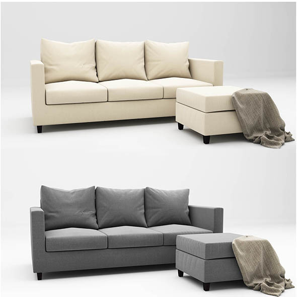 3DOcean Adam sofa 11512310