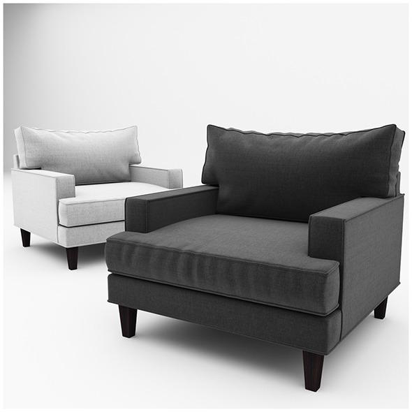 3DOcean Ramey armchair 11512350