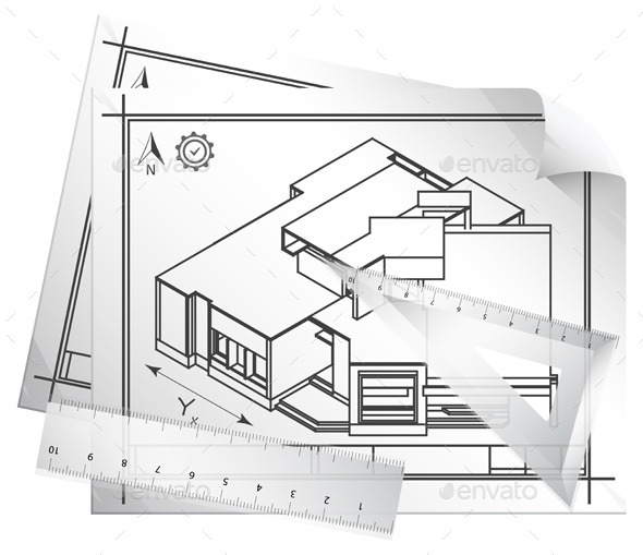 GraphicRiver Architectural Drawing 11512447