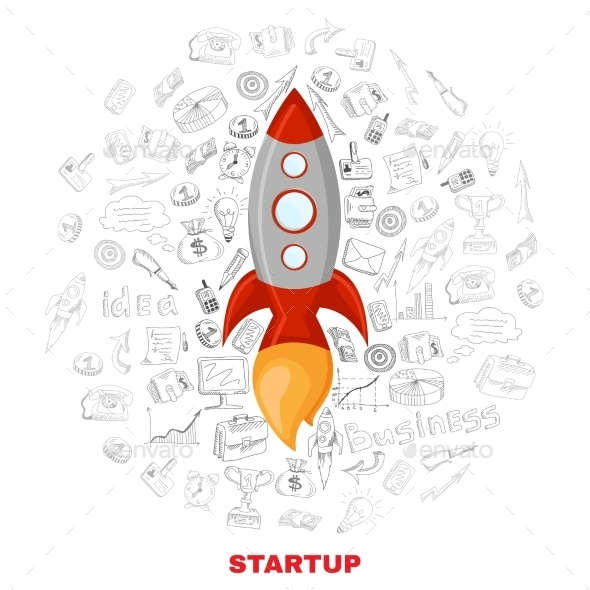 GraphicRiver Business Startup Launch Concept 11512580