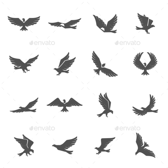 GraphicRiver Eagle Icons Set 11512650