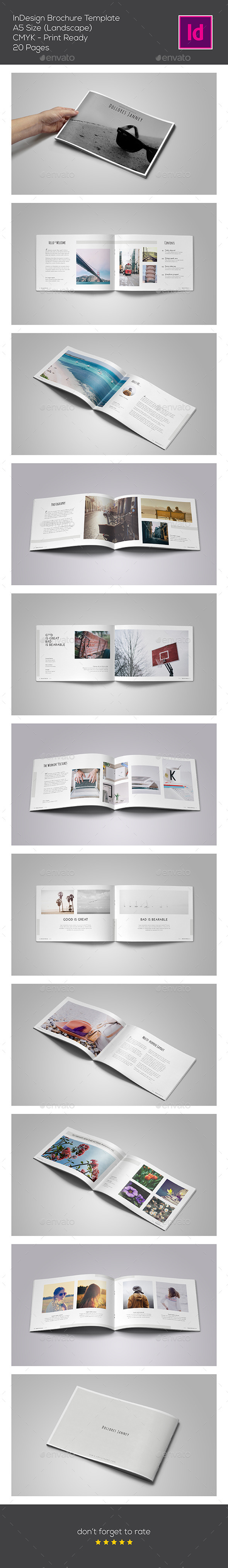 GraphicRiver Multipupose Brochure Template 11437423