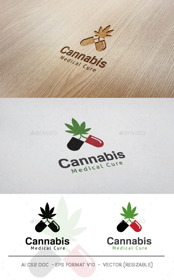 GraphicRiver Cannabis V2 Logo 11512719